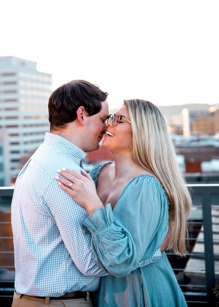 Marriage Proposal Ideas in Rooftop in Knoxville, TN