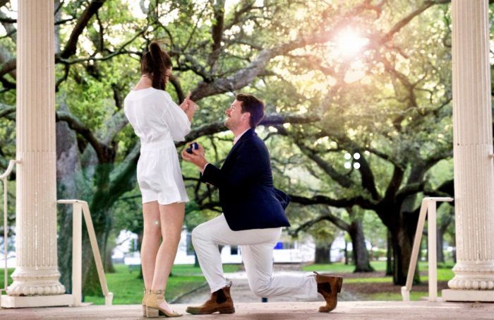 Marriage Proposal Ideas in Charleston, SC