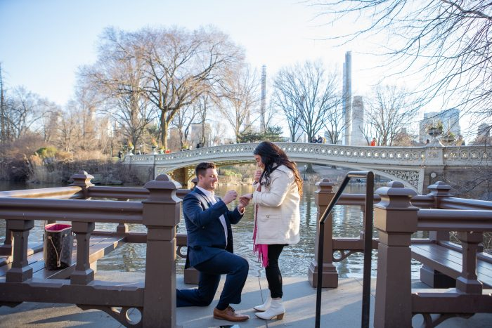 Haley Paige and Bradly's Engagement in New York, Central Park