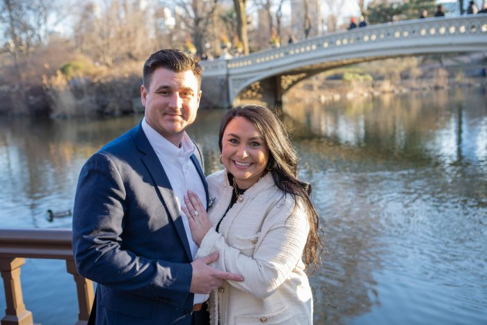 Engagement Proposal Ideas in New York, Central Park