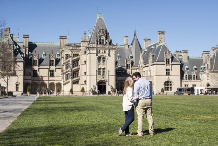 Wedding Proposal Ideas in The Biltmore Estate in Asheville, North Carolina