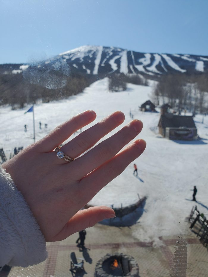Molly and Chris's Engagement in Sugarloaf Mountain