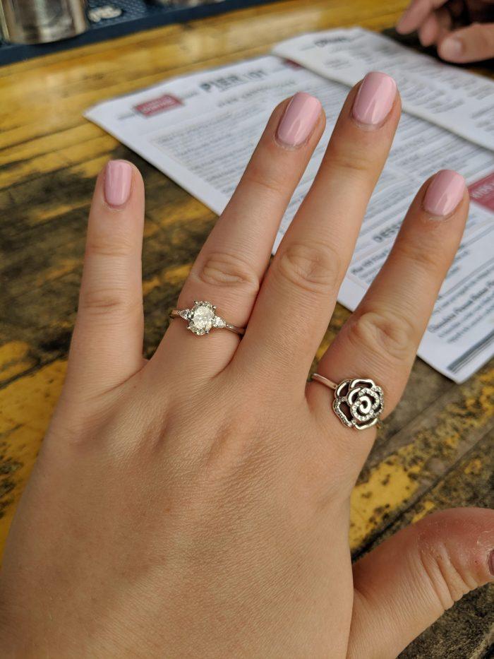 Shannon's Proposal in Folly Beach, SC