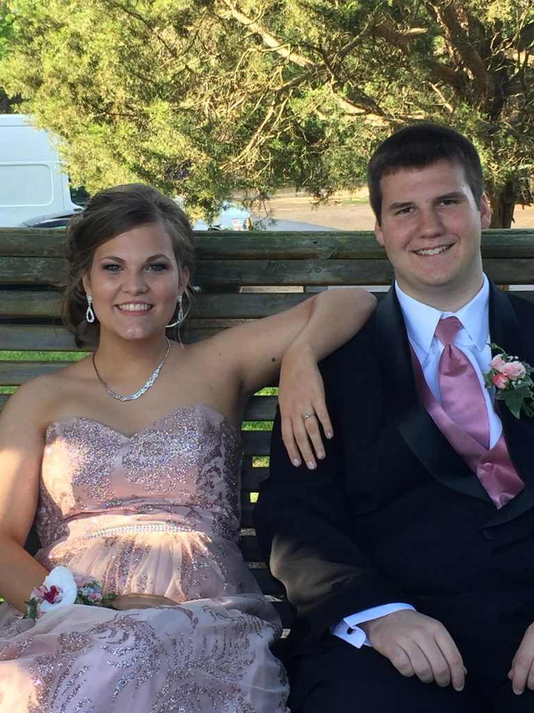 Image 2 of Caroline and Wyatt