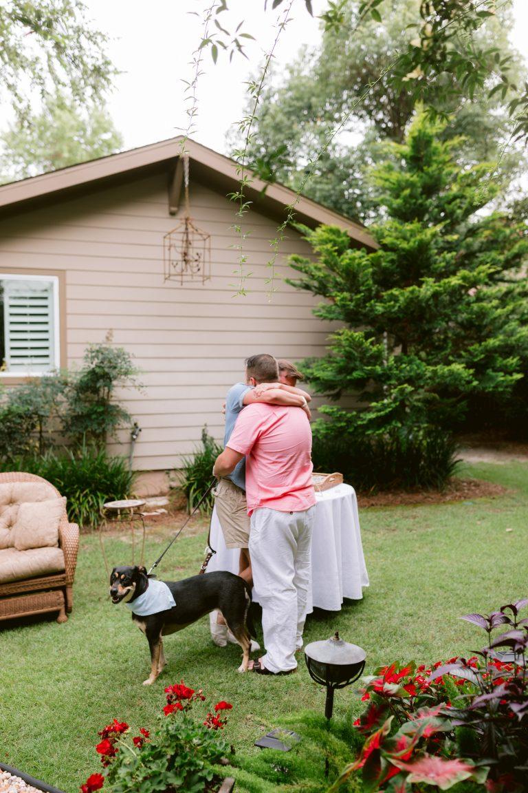 Image 3 of Justin and Mason