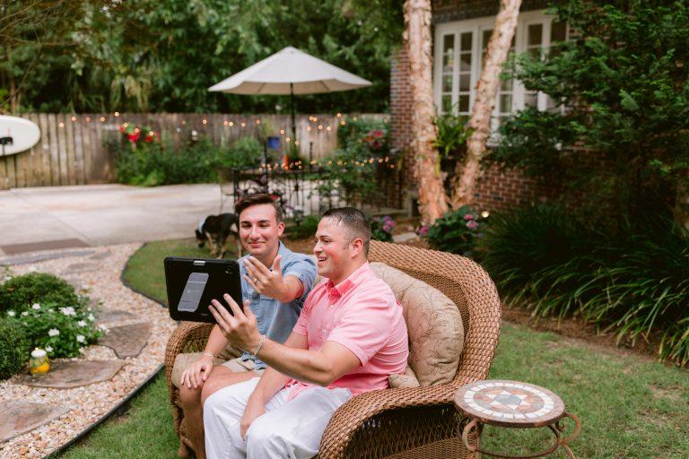 Image 9 of Justin and Mason