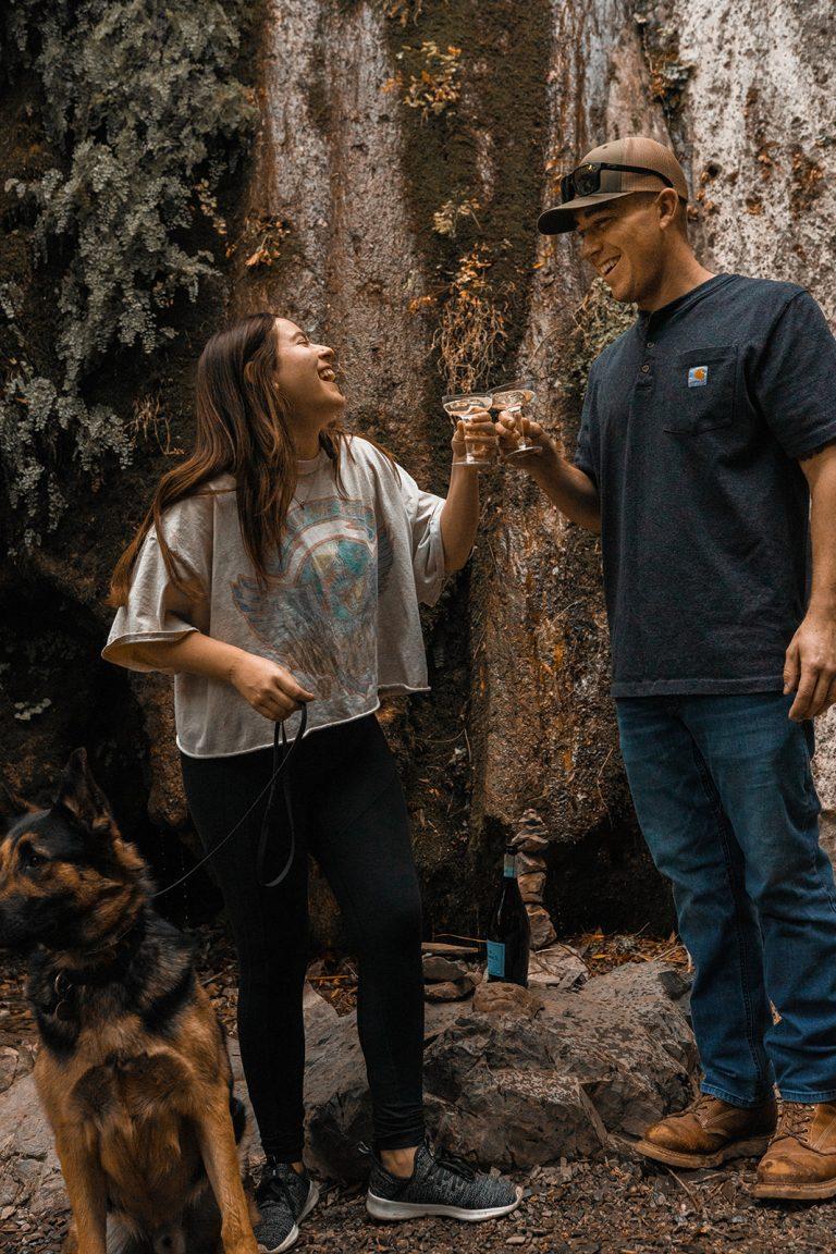 Image 1 of Hannah and Austyn