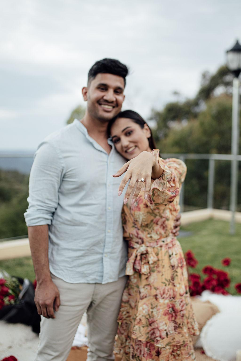 Image 1 of Rhea and Kartik
