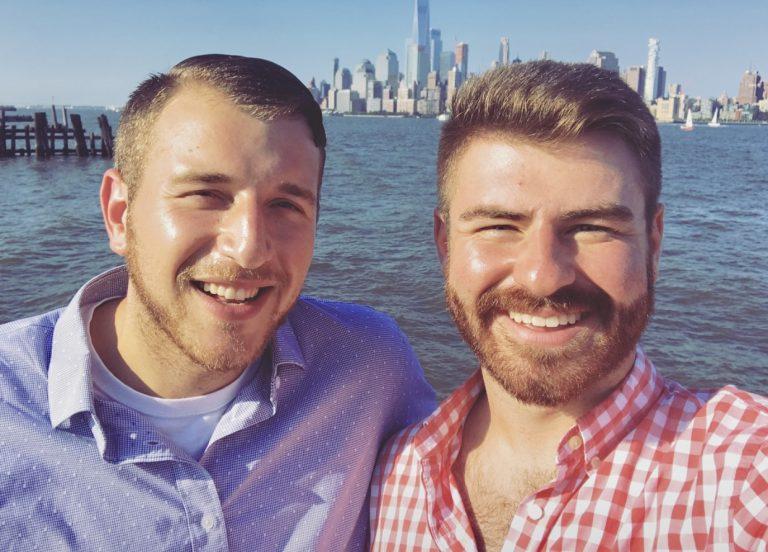 Image 1 of Christopher and Brandon