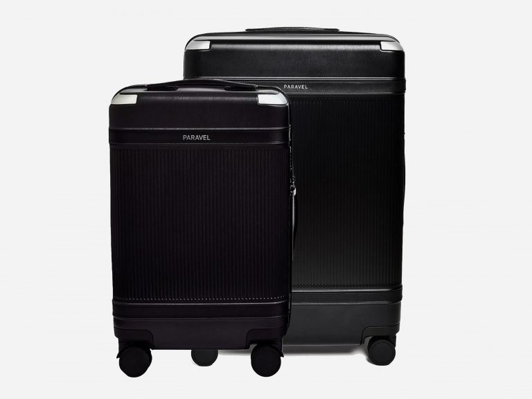 Paravel Carbon-Neutral Luggage Set engagement gift from mom