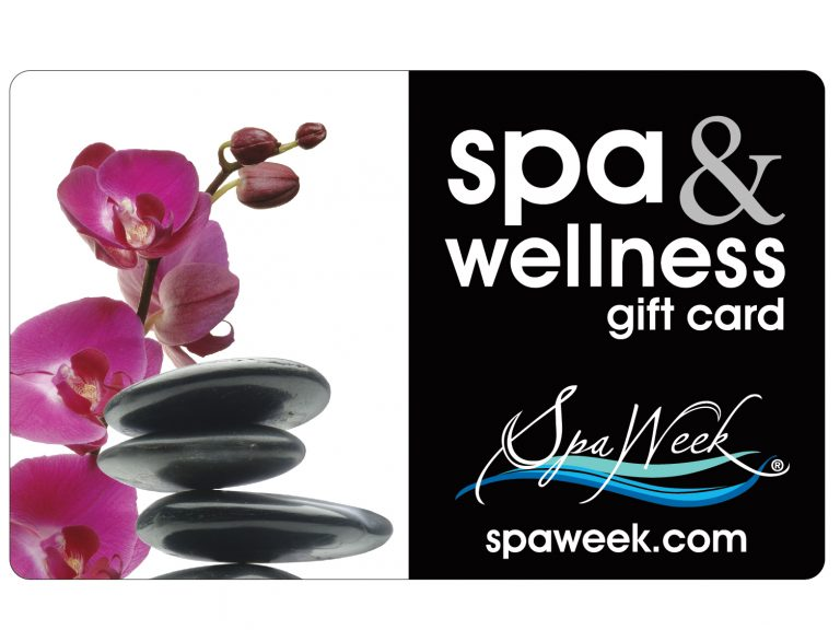 SpaWeek gift card engagement gift from mom