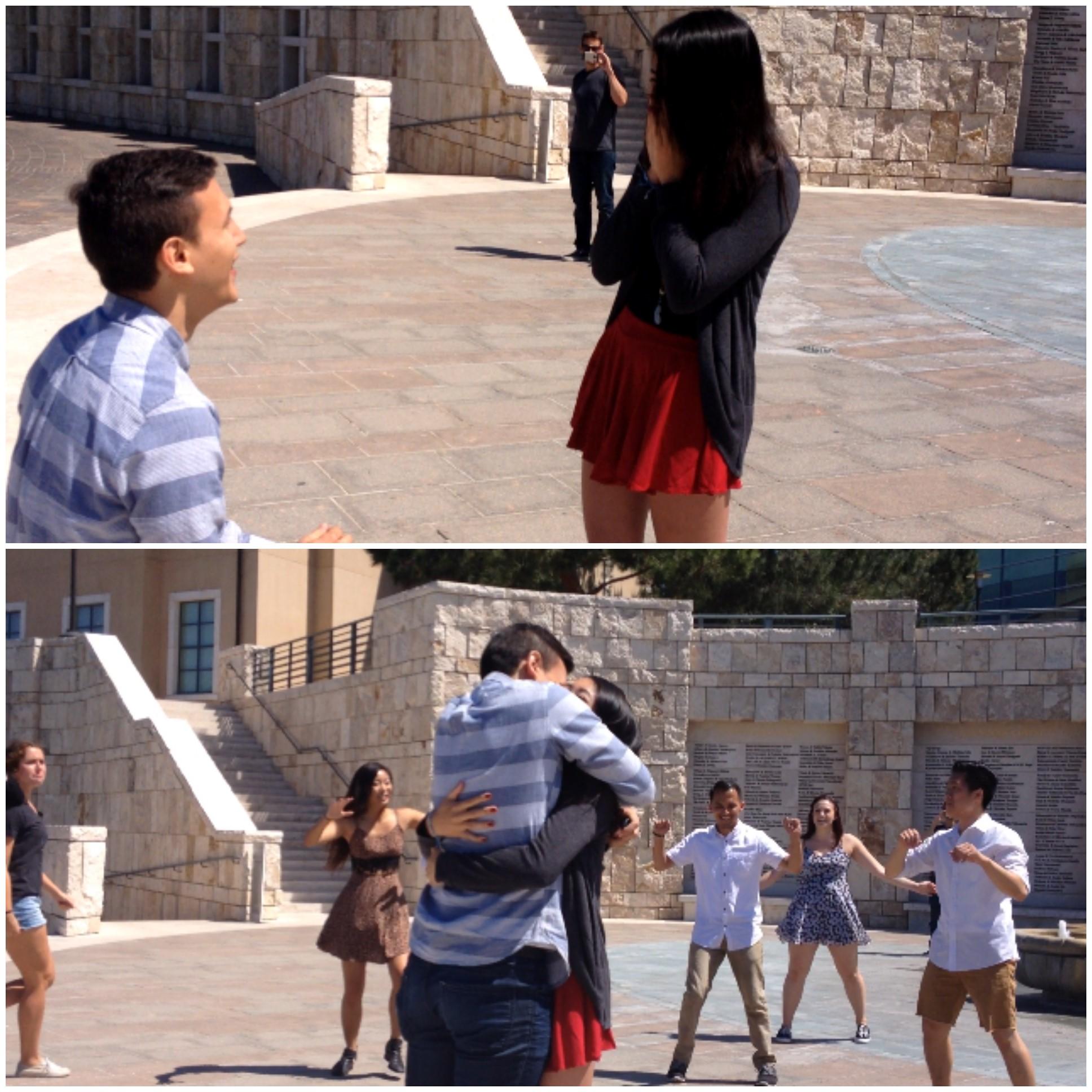 Jacob and Jacky Flashmob (1)