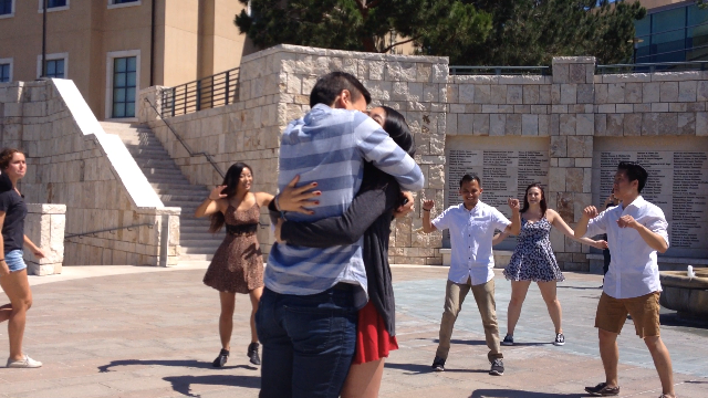 Jacob and Jacky adorable Flash Mob Proposal (5)