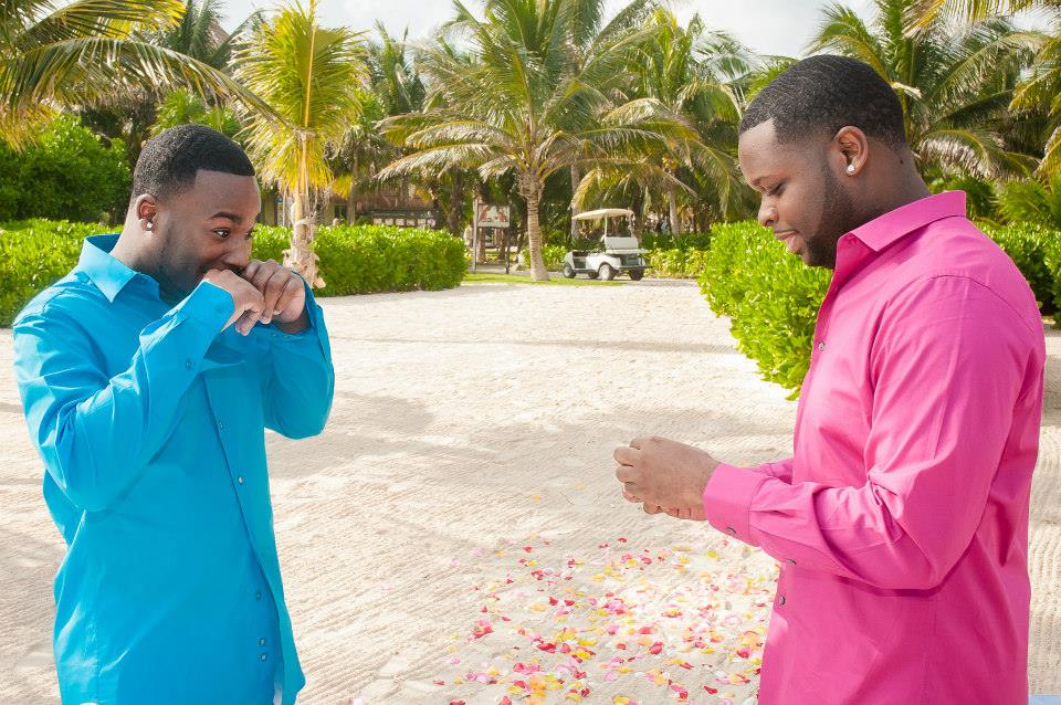 Image 12 of Jeff and Jeremiah's Crazy Emotional Proposal in Mexico