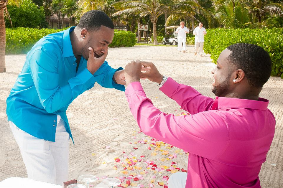 Image 4 of Jeff and Jeremiah's Crazy Emotional Proposal in Mexico