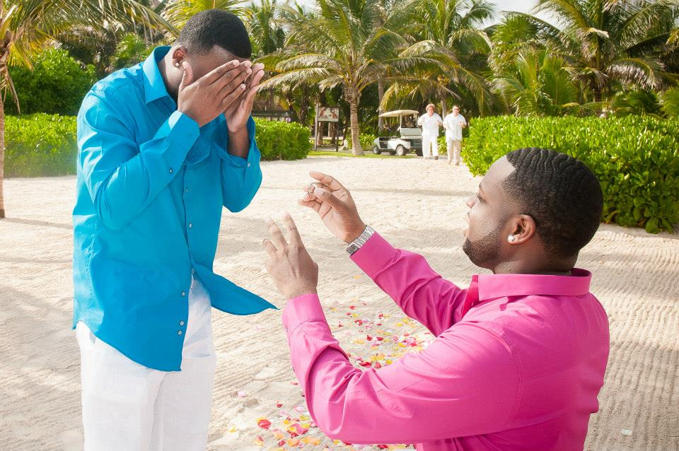 Image 3 of Jeff and Jeremiah's Crazy Emotional Proposal in Mexico