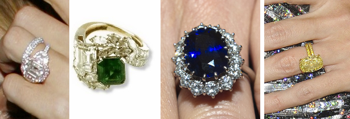 Image 1 of Colored Diamond Engagement Rings: What's the Buzz?